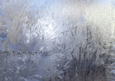 Window Frost- Edenton, NC