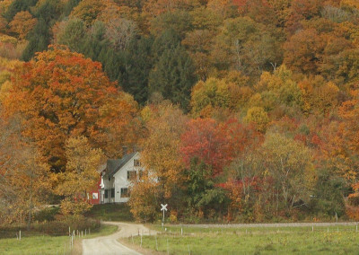 Farm House Fall Color- Vermont