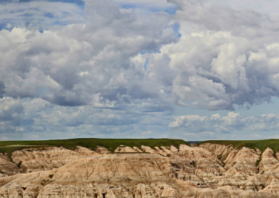 Gorgeous Badlands Clouds-SD