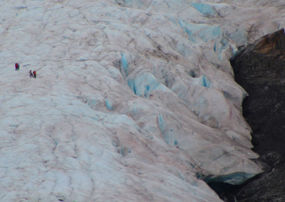 Ice Fields- Worthington Glacier, AK