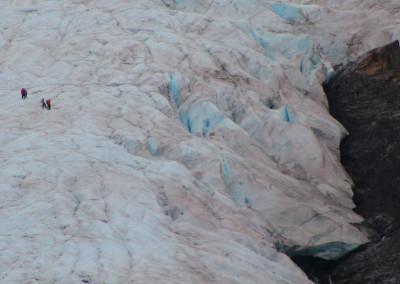 Ice Fields- Worthington Glacier, AK