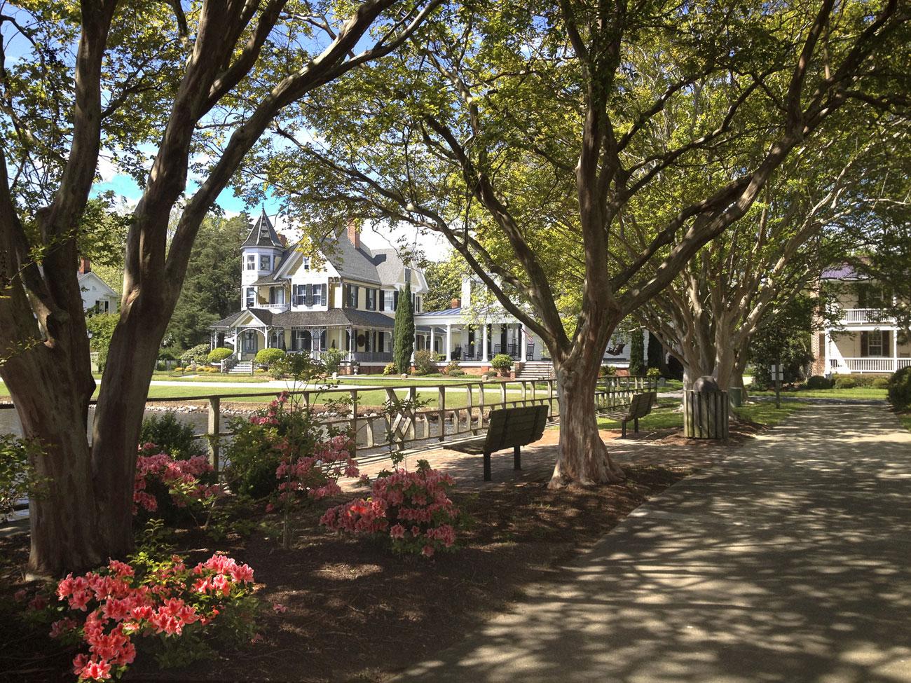 Queen Anne Park Spring Azaleas- Edenton, NC