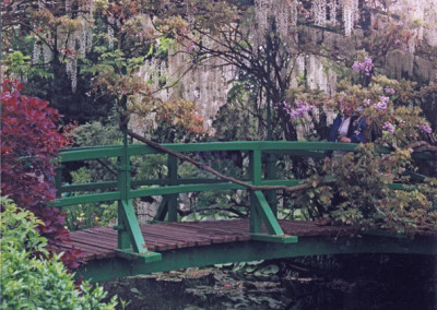 Monet Bridge- Giverny, France