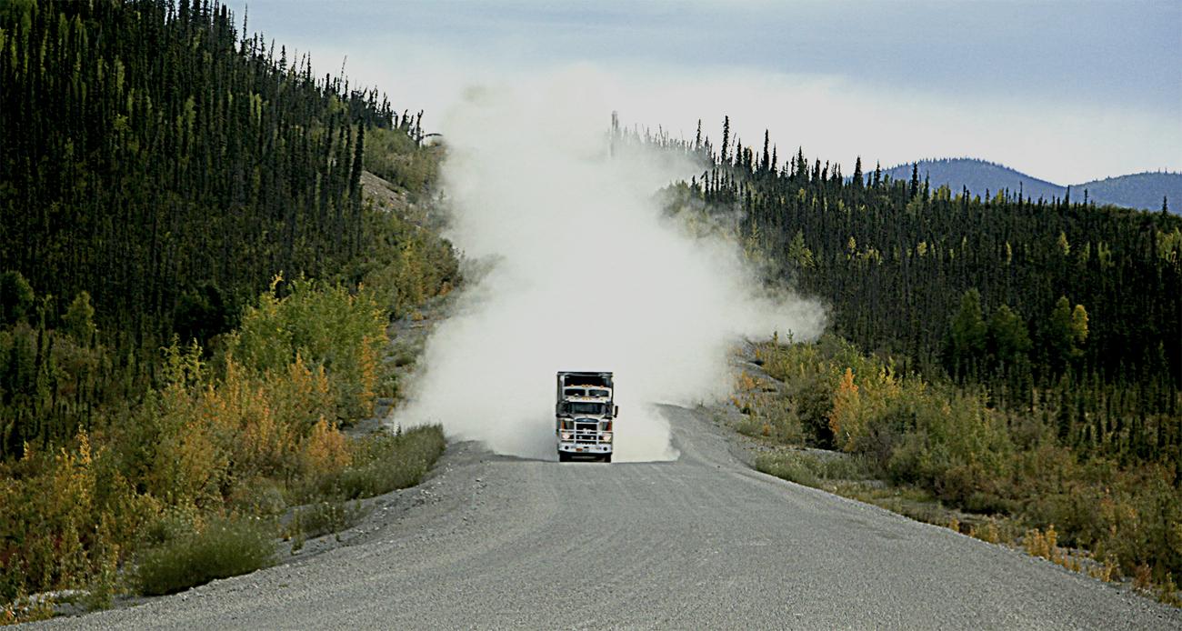 Truck Alcan Hwy- AK