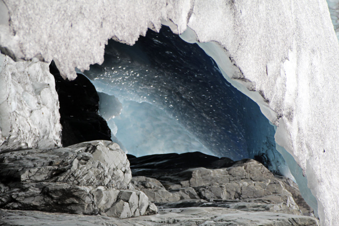 Starry Glacial Cave- Worthington Glacier, AK