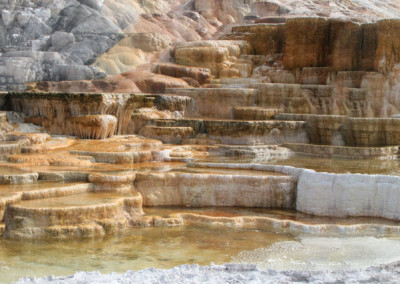 Mineral Springs Pools- Yellowstone, WY