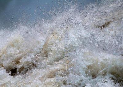 Yellowstone Falls Turbulence -WY