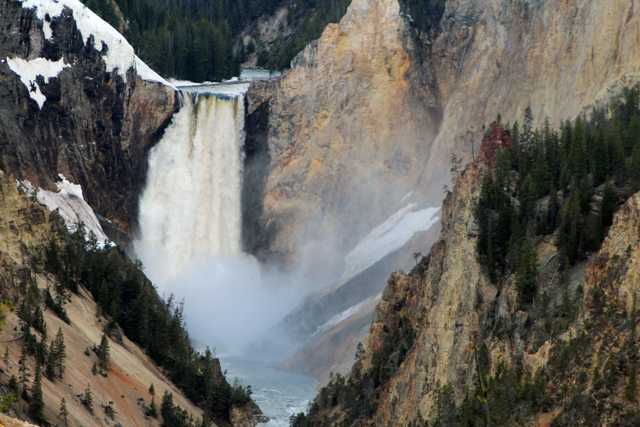 Yellowstone Falls- WY