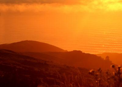 Sunset at Mattole